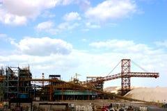 Industria del mar muerto foto de archivo libre de regalías