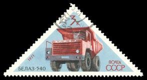 Industria del motor soviética, camión BelAZ imágenes de archivo libres de regalías