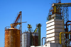 Industria del residuo del ferro Fotografia Stock Libera da Diritti