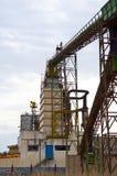 Industria del residuo del ferro Fotografia Stock