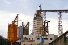 Industria del residuo del ferro Fotografie Stock Libere da Diritti