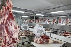 Industria della carne Immagine Stock Libera da Diritti