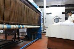 Industria della lavanderia Immagini Stock Libere da Diritti