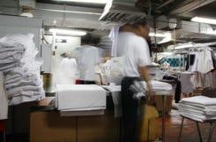 Industria della lavanderia fotografie stock libere da diritti