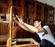 Industria della mobilia Fotografia Stock Libera da Diritti