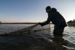 Industria della pesca Fotografie Stock Libere da Diritti