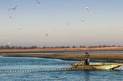 Industria della pesca Fotografie Stock