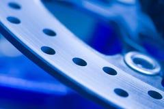 Industria di automobile, particolare del freno Fotografie Stock Libere da Diritti