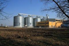 Industria di azienda agricola Fotografia Stock
