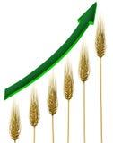 Industria di azienda agricola illustrazione di stock