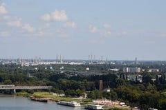 Industria di Bratislava Fotografia Stock