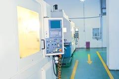 Industria di costruzioni meccaniche di CNC immagine stock