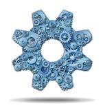 Industria di funzionamento Immagine Stock