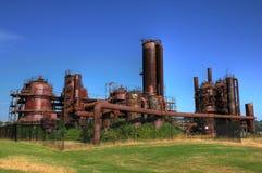 Industria di gas fotografia stock libera da diritti