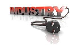 Industria di potenza Immagine Stock