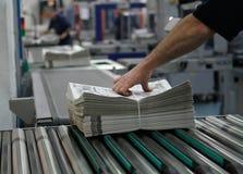 Industria di stampa offset Immagini Stock