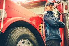Industria di trasporto su autocarro di affari fotografie stock