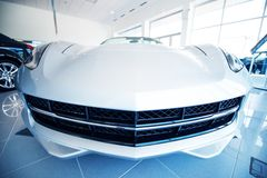Industria di vendite dell'automobile fotografia stock