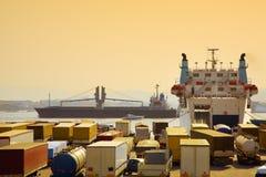 Industria e commercio fotografie stock libere da diritti
