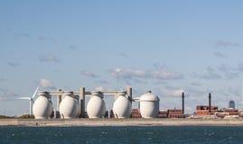 Industria en Boston, mA Fotos de archivo