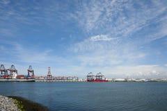 Industria en el puerto de Rotterdam6 Fotos de archivo libres de regalías