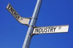 Industria energética Fotos de archivo libres de regalías