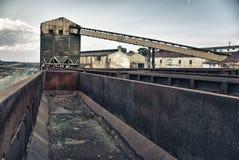 Industria estrattiva Fotografie Stock Libere da Diritti