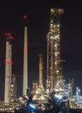 Industria fabril del aceite Fotografía de archivo libre de regalías