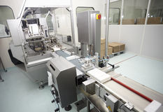 Industria farmaceutica Immagine Stock