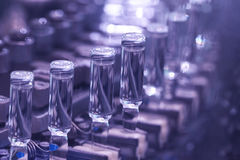 Industria farmaceutica Fotografia Stock