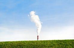 Industria favorable al medio ambiente Foto de archivo libre de regalías
