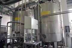 Industria lattiera fotografia stock