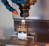 Industria - máquinas del CNC para la fabricación del molde Fotografía de archivo