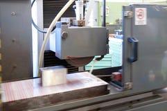Industria - macchine di CNC per la fabbricazione della muffa immagine stock libera da diritti