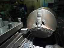 Industria metalúrgica: torno del metal del acabamiento, una afición Imagenes de archivo
