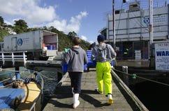 Industria pesquera  Fotografía de archivo libre de regalías