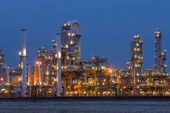 Industria petrochimica Fotografie Stock Libere da Diritti