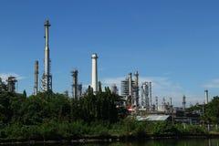 Industria petrolera Foto de archivo libre de regalías