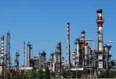 Industria petrolera Imagen de archivo libre de regalías