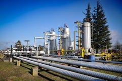 Industria petrolifera Fotografia Stock Libera da Diritti