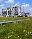 Industria petrolifera e del gas Fotografie Stock
