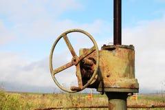 Industria: Petrolio e gas Fotografia Stock Libera da Diritti