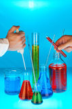 Industria química Fotografía de archivo