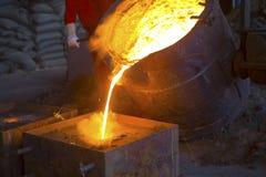 Industria siderurgica Immagini Stock Libere da Diritti