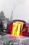 Industria siderurgica Fotografia Stock Libera da Diritti