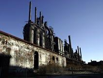 Industria siderurgica Fotografie Stock Libere da Diritti