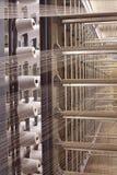 Industria tessile immagine stock