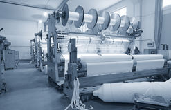 Industria tessile Fotografie Stock