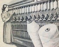 Industria textil Foto de archivo libre de regalías