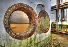 Industrial 3. Industrial Pipework Chemical Works Industry Hole Porthole Tank Effulence Stock Images